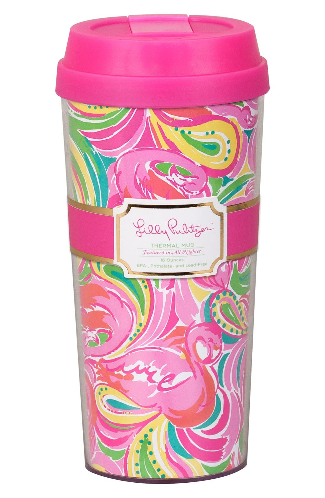 Main Image - Lilly Pulitzer® Thermal Mug