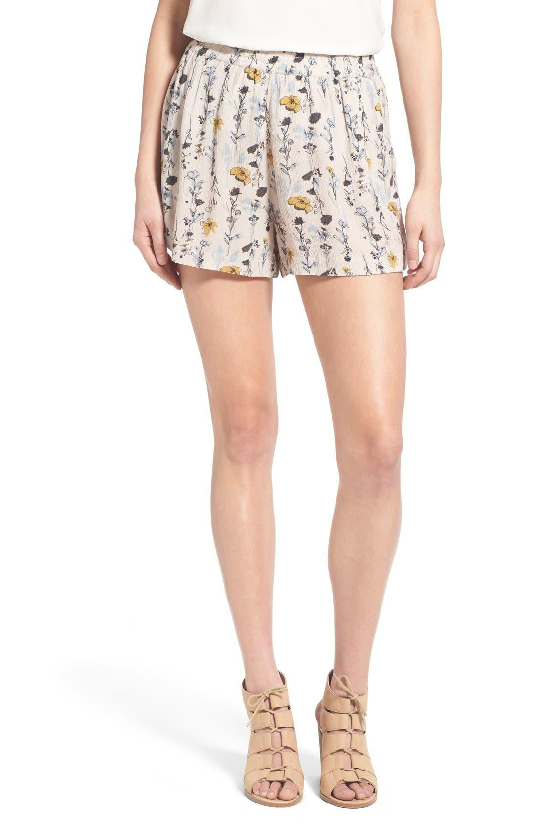Alternate Image 1 Selected - Hinge Loose High Waist Shorts