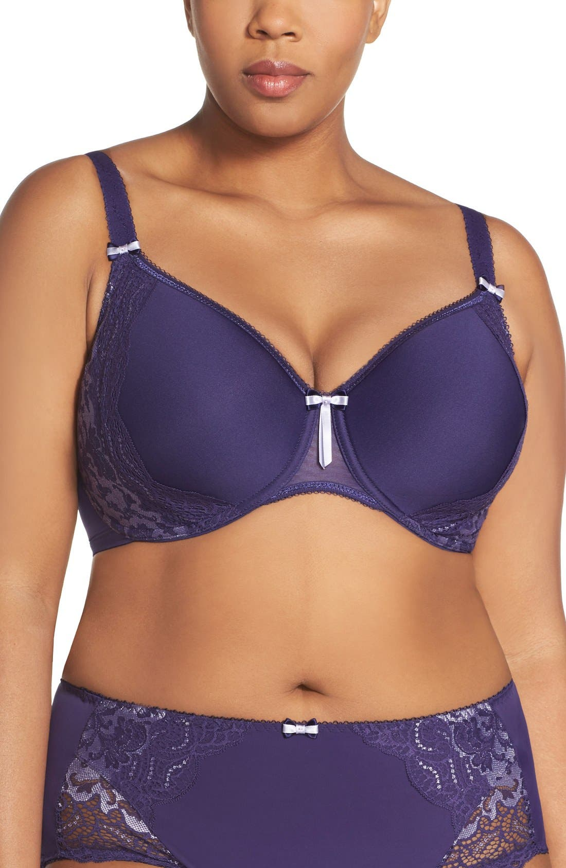 Alternate Image 1 Selected - Elomi 'Amelia' Molded Underwire Bra (Plus Size)