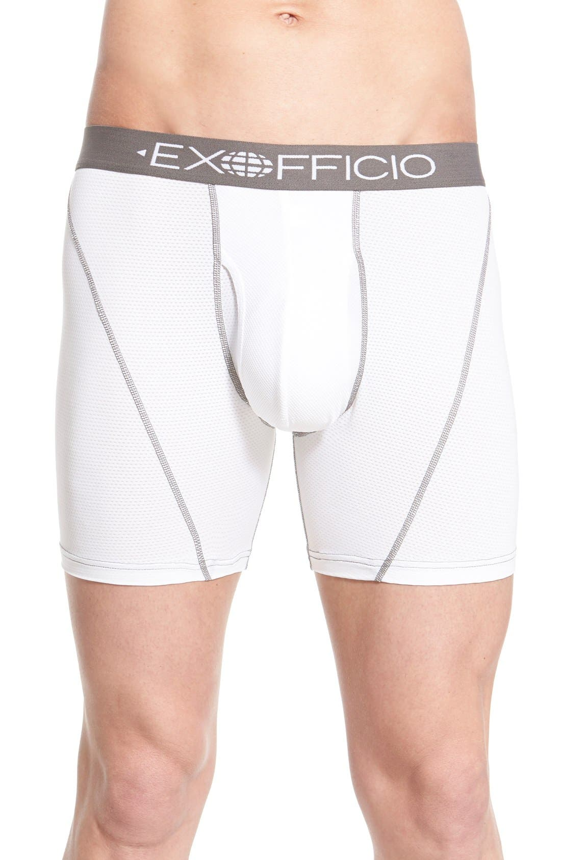 EXOFFICIO Ex Officio Give-N-Go Sport Mesh Boxer Briefs