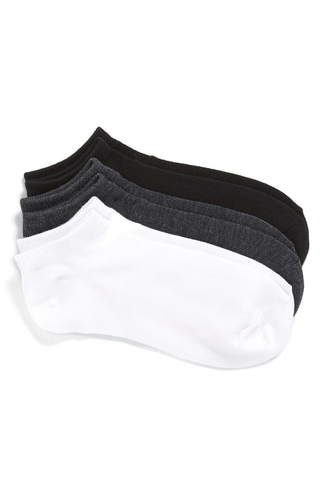 Nordstrom 3-Pack Ankle Socks