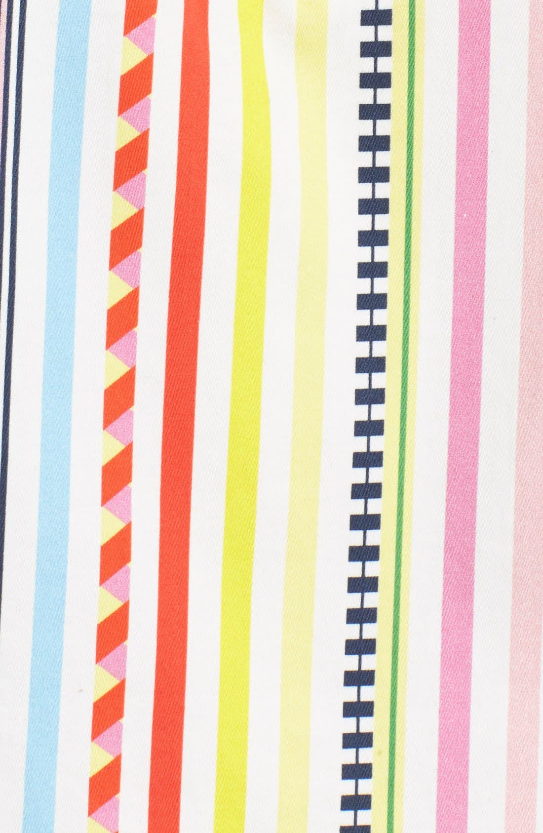 Alternate Image 3  - Mira Mikati Candy Stripe Print Popover Dress