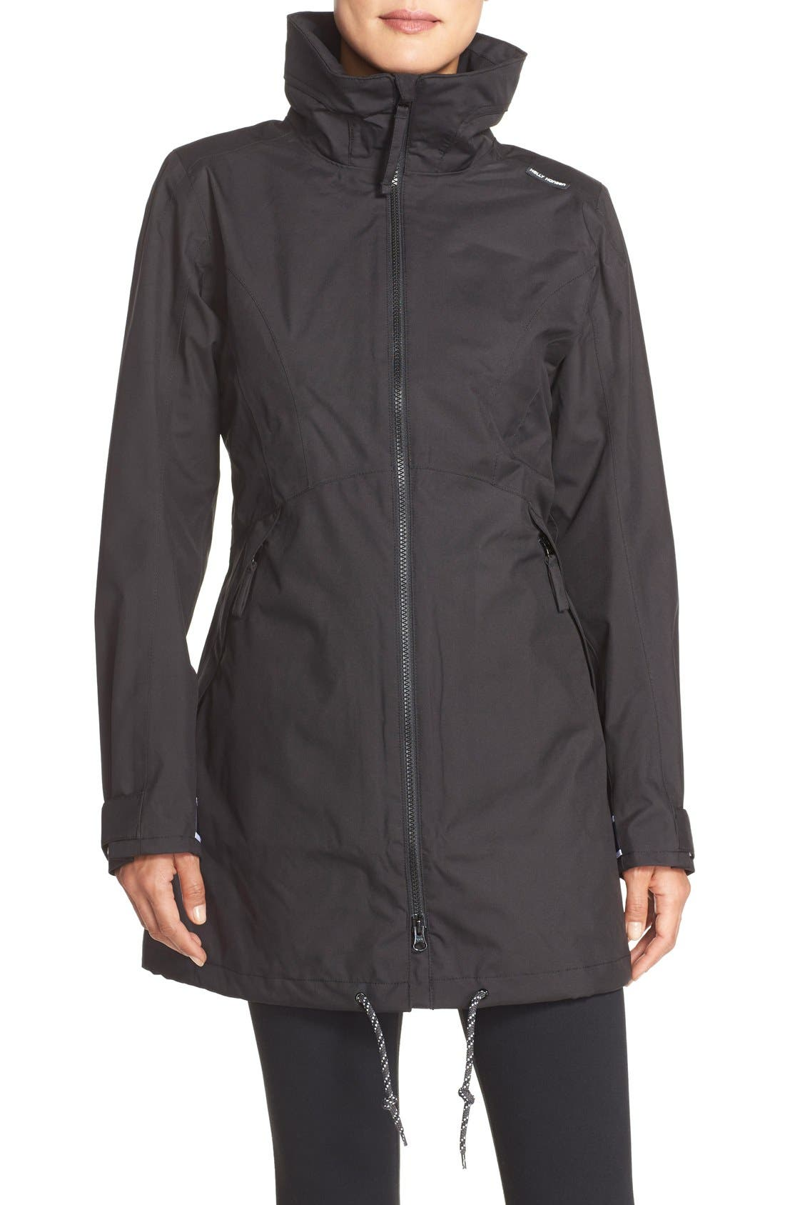 Alternate Image 1 Selected - Helly Hansen 'Laurel' Waterproof Coat