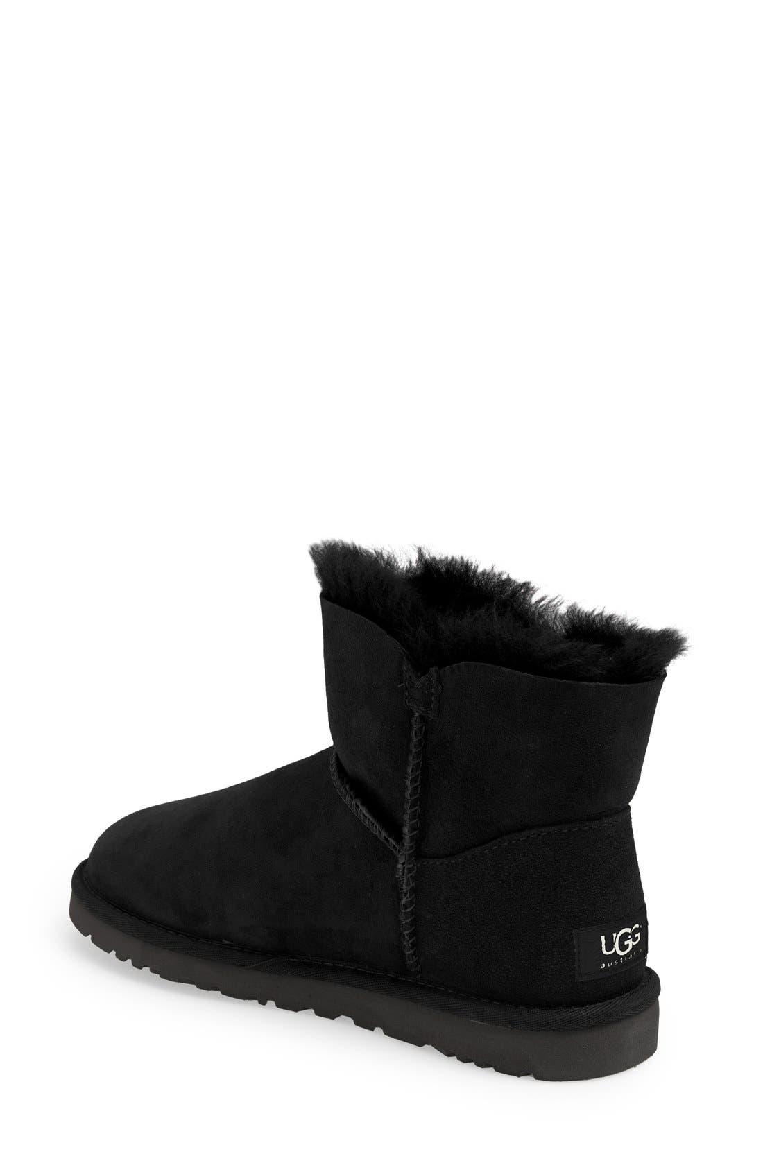 Alternate Image 2  - UGG® 'Mini Bailey Button' Boot (Women)