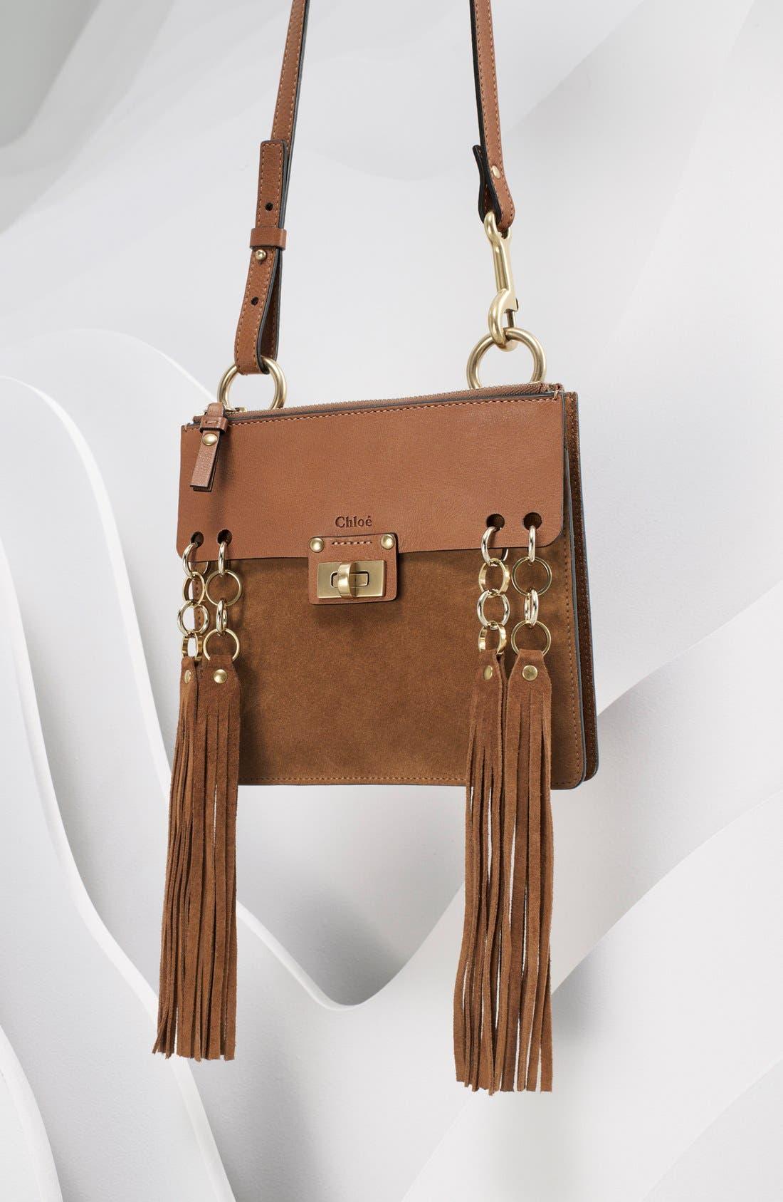 Alternate Image 6  - Chloé 'Small Jane' Tassel Suede & Leather Crossbody Bag