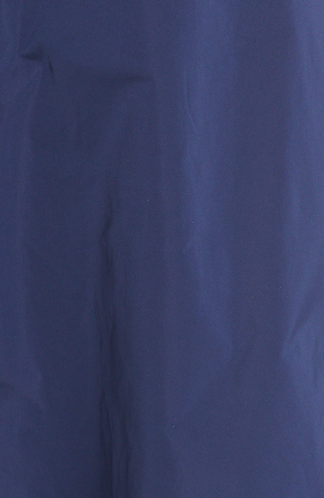 Alternate Image 3  - Oscar de la Renta Floral Embellished Strapless Fit & Flare Dress