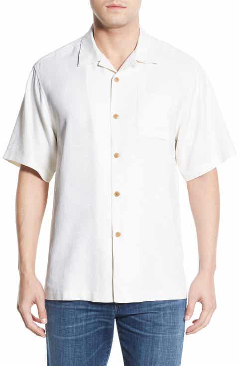Tommy Bahama 'Rio Fronds' Regular Fit Silk Camp Shirt