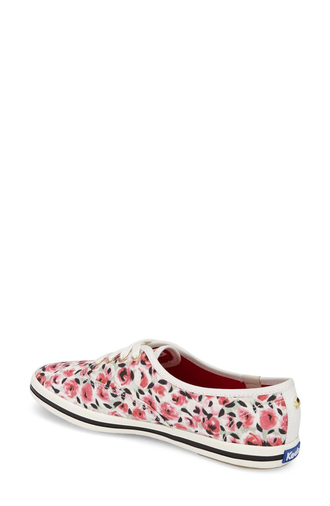 Alternate Image 2  - Keds® for kate spade new york 'kick' print sneaker (Women)