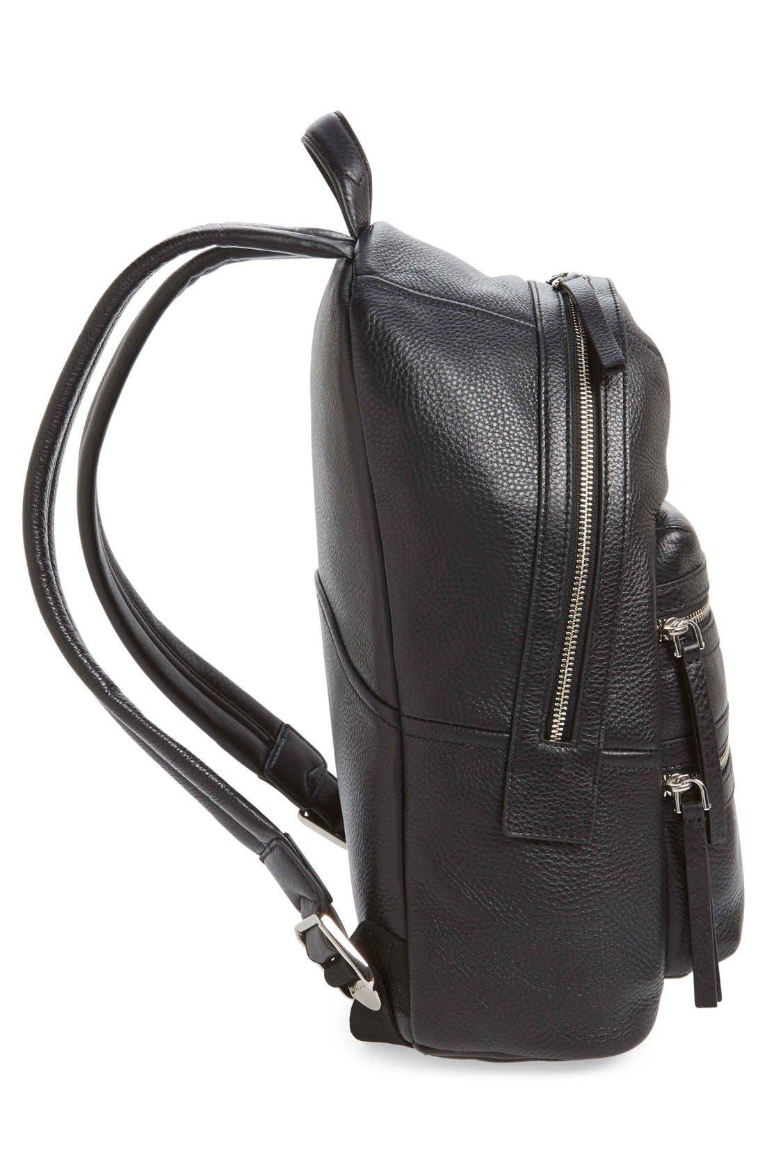 Alternate Image 5  - MARC JACOBS Large Biker Leather Backpack