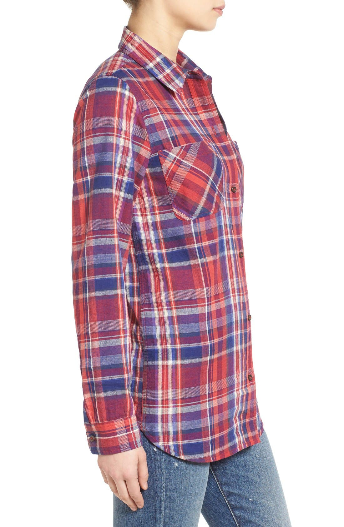 Alternate Image 3  - Madewell 'Ex-Boyfriend - Kentwood Plaid' Shirt