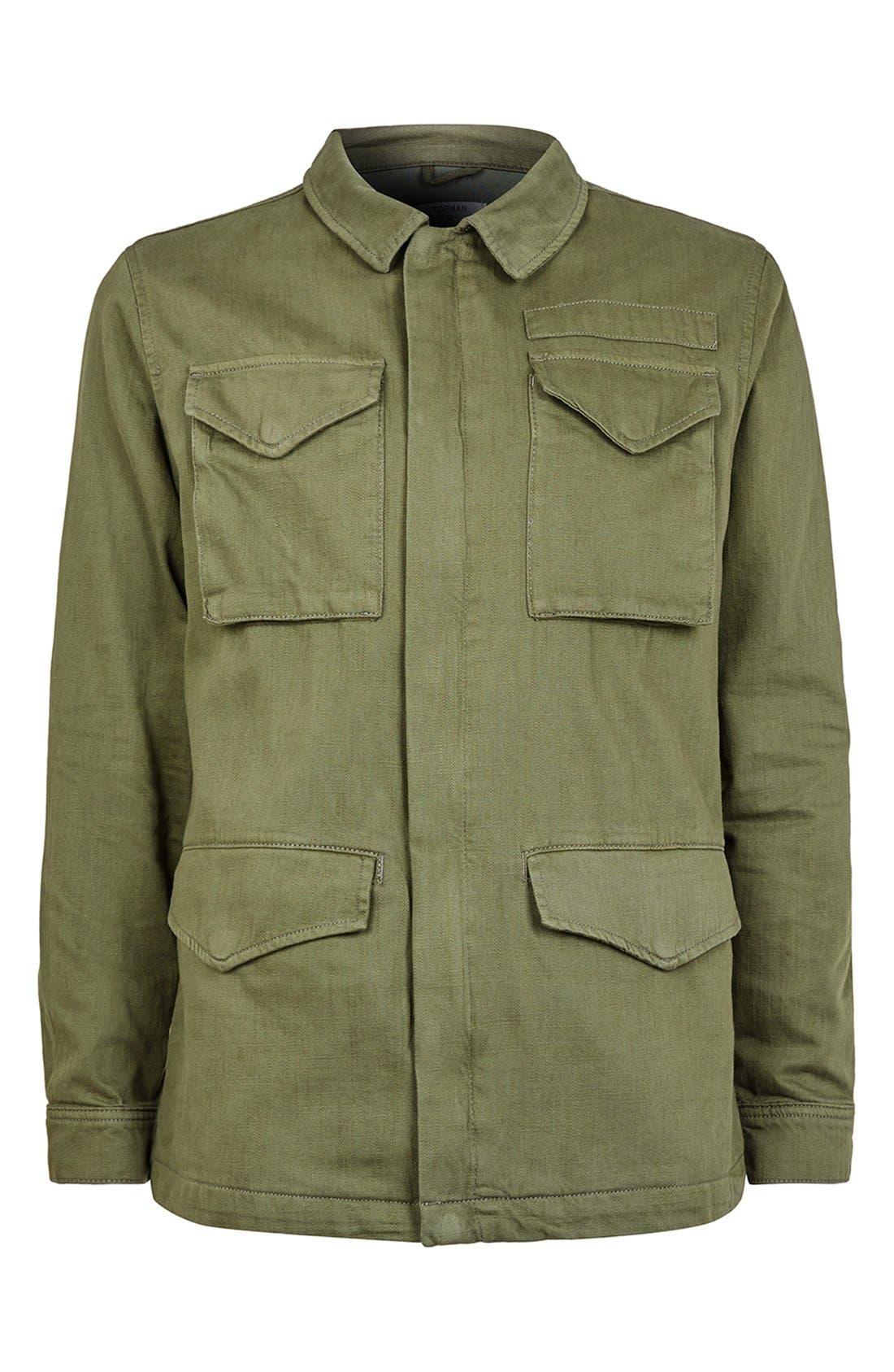 Alternate Image 4  - Topman M-65 Field Jacket