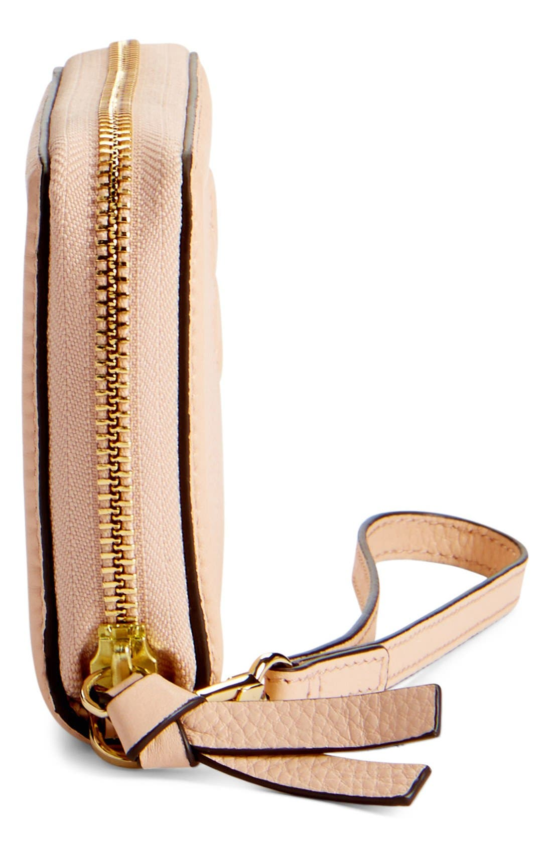 Alternate Image 4  - Tory Burch 'Thea' Leather Wristlet