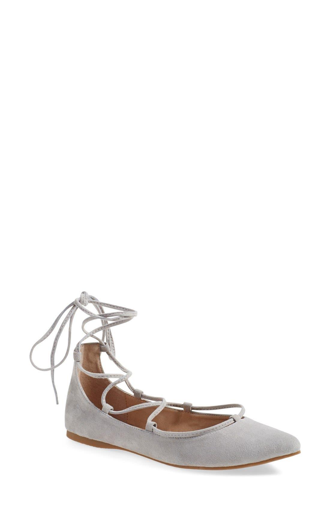 Alternate Image 1 Selected - Steve Madden 'Eleanorr' Ballet Flat (Women)