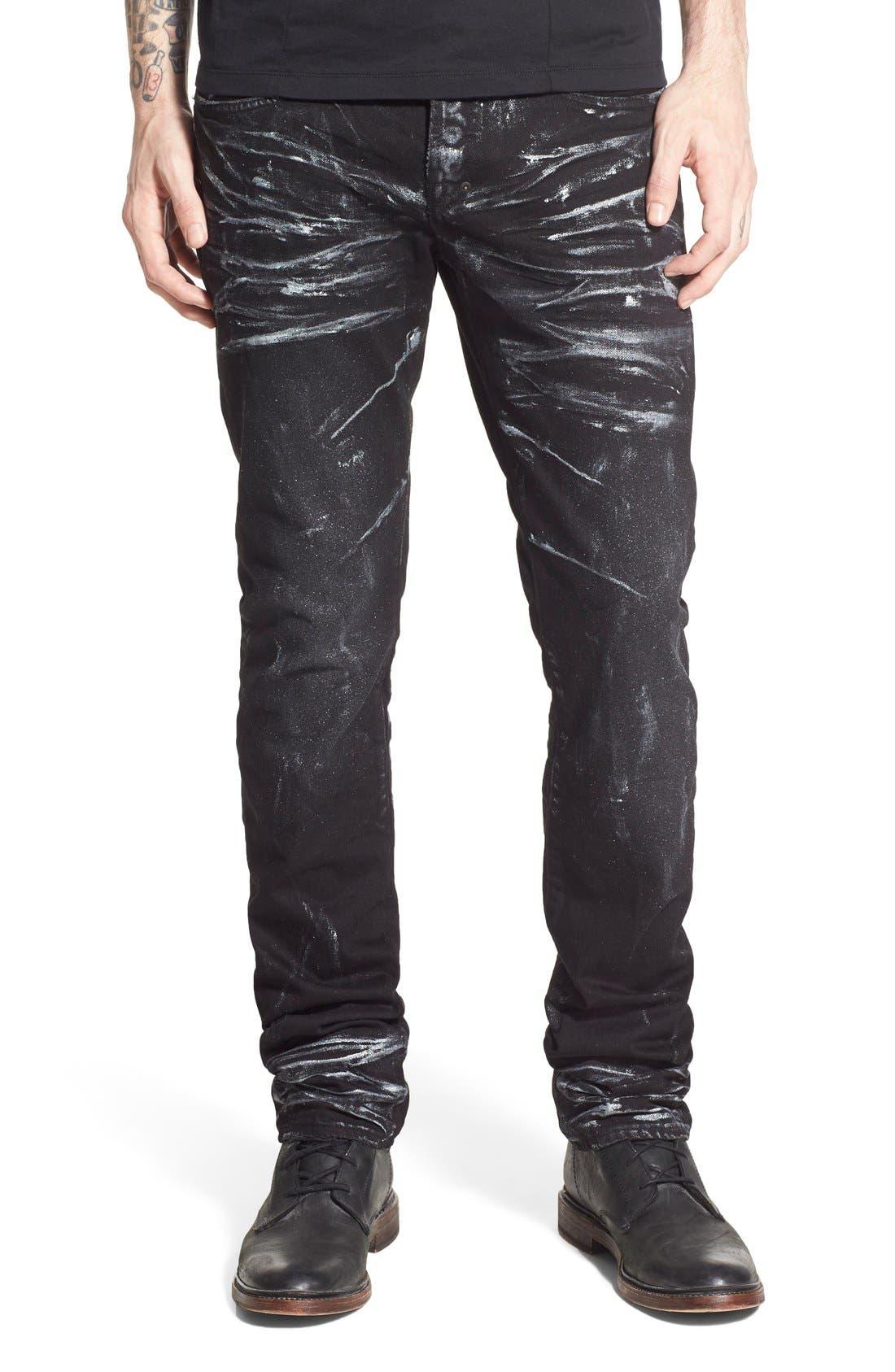 Main Image - PRPS 'Demon' Slim Straight Leg Jeans (Mandrill)