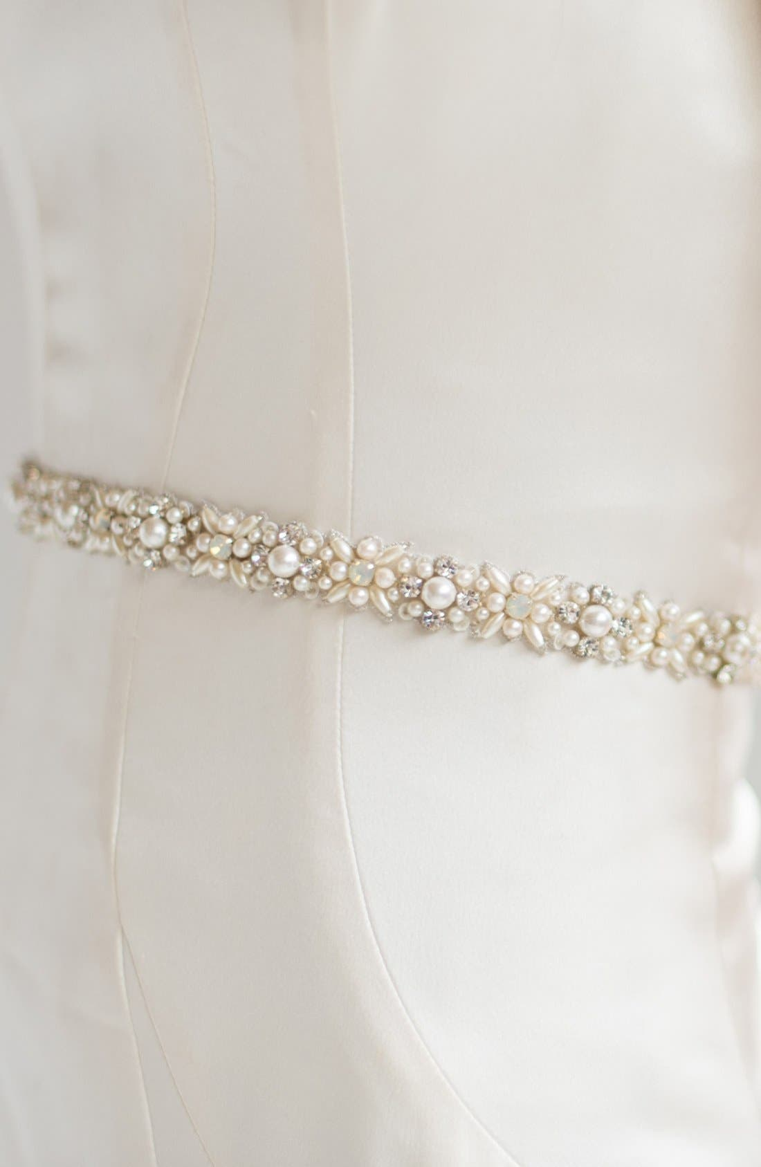Alternate Image 4  - Camilla Christine Faux Pearl & Bead Belt
