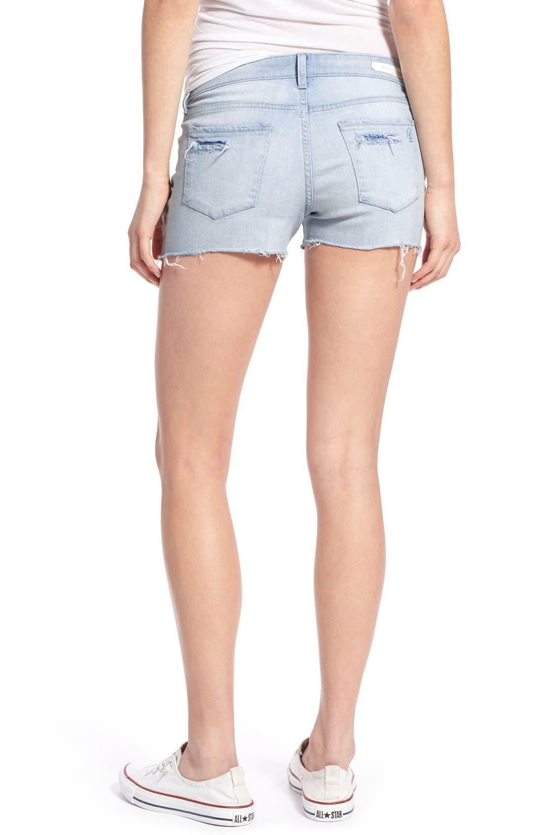 Alternate Image 3  - Articles of Society 'Madre' Denim Shorts (Cozumel)