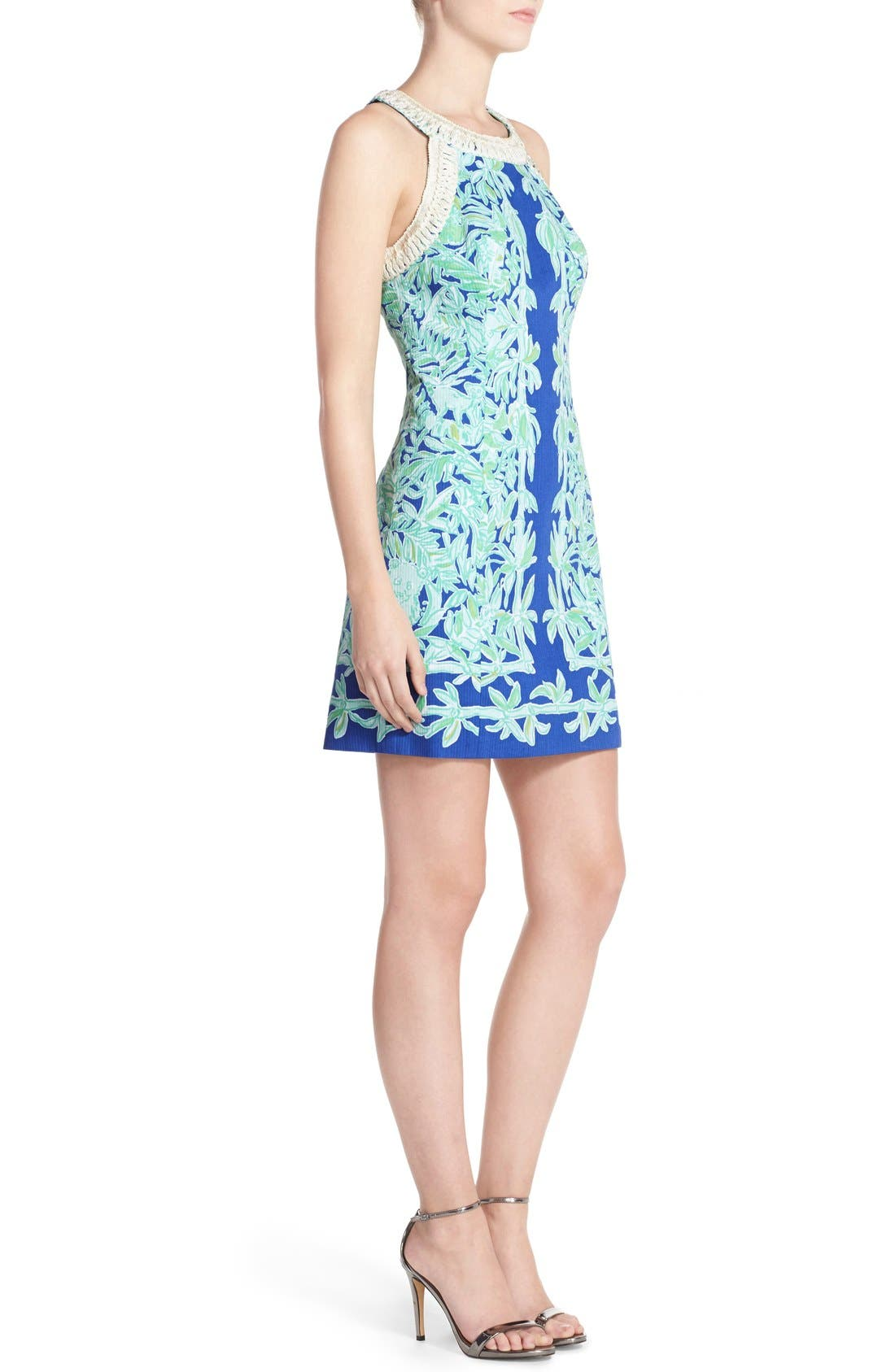 Alternate Image 3  - Lilly Pulitzer® 'Lea' Cotton Shift Sheath Dress