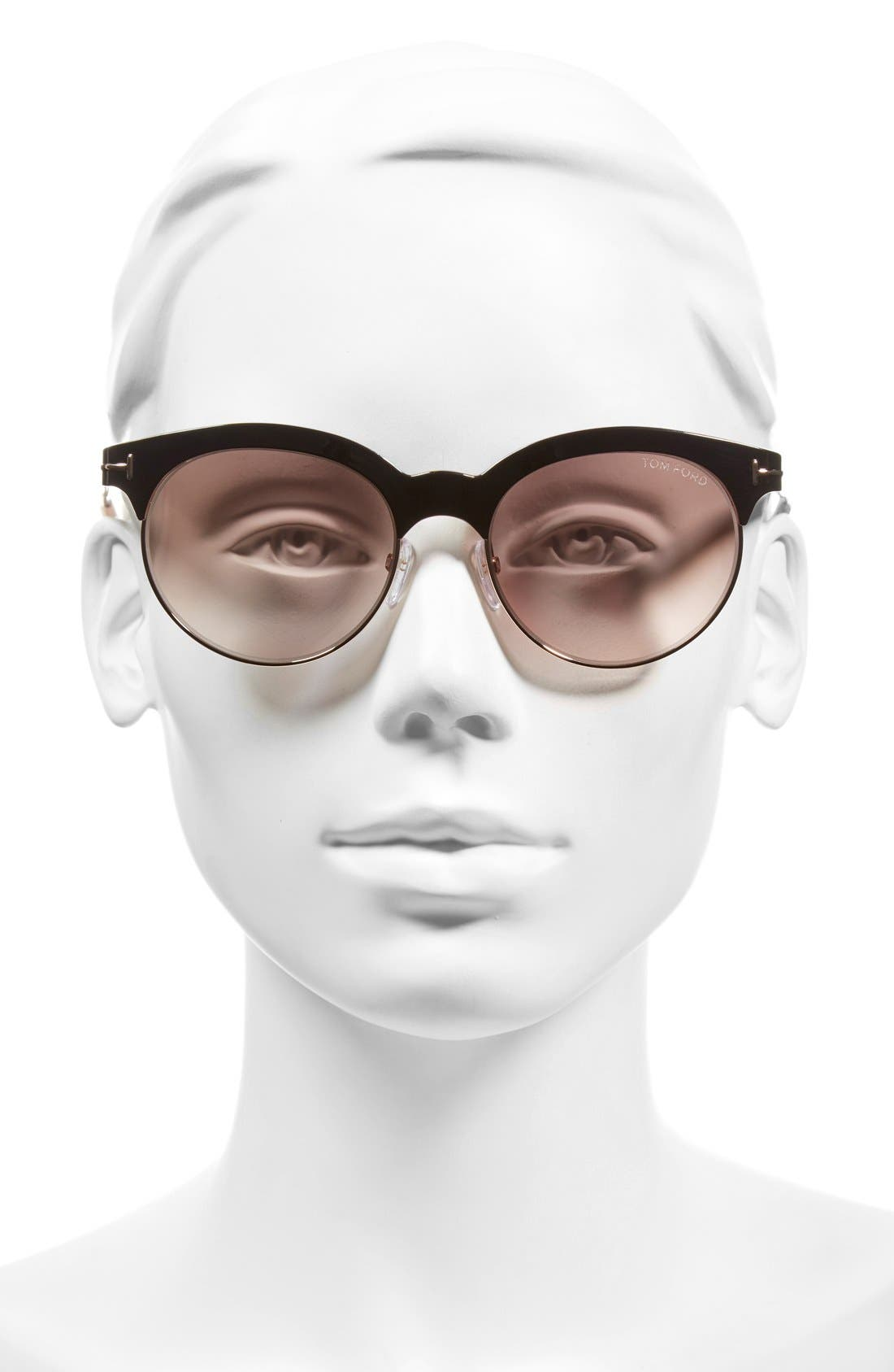 Alternate Image 2  - Tom Ford 'Angela' 53mm Retro Sunglasses