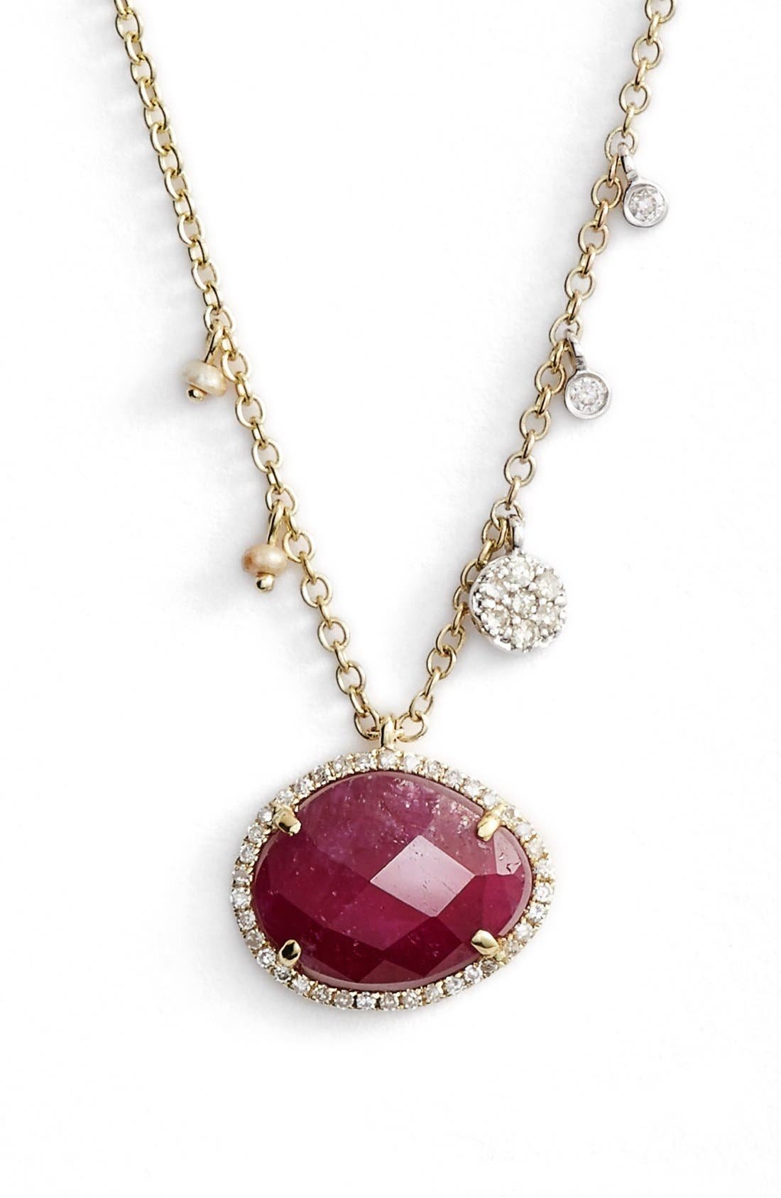 MEIRA T Stone Pendant Necklace