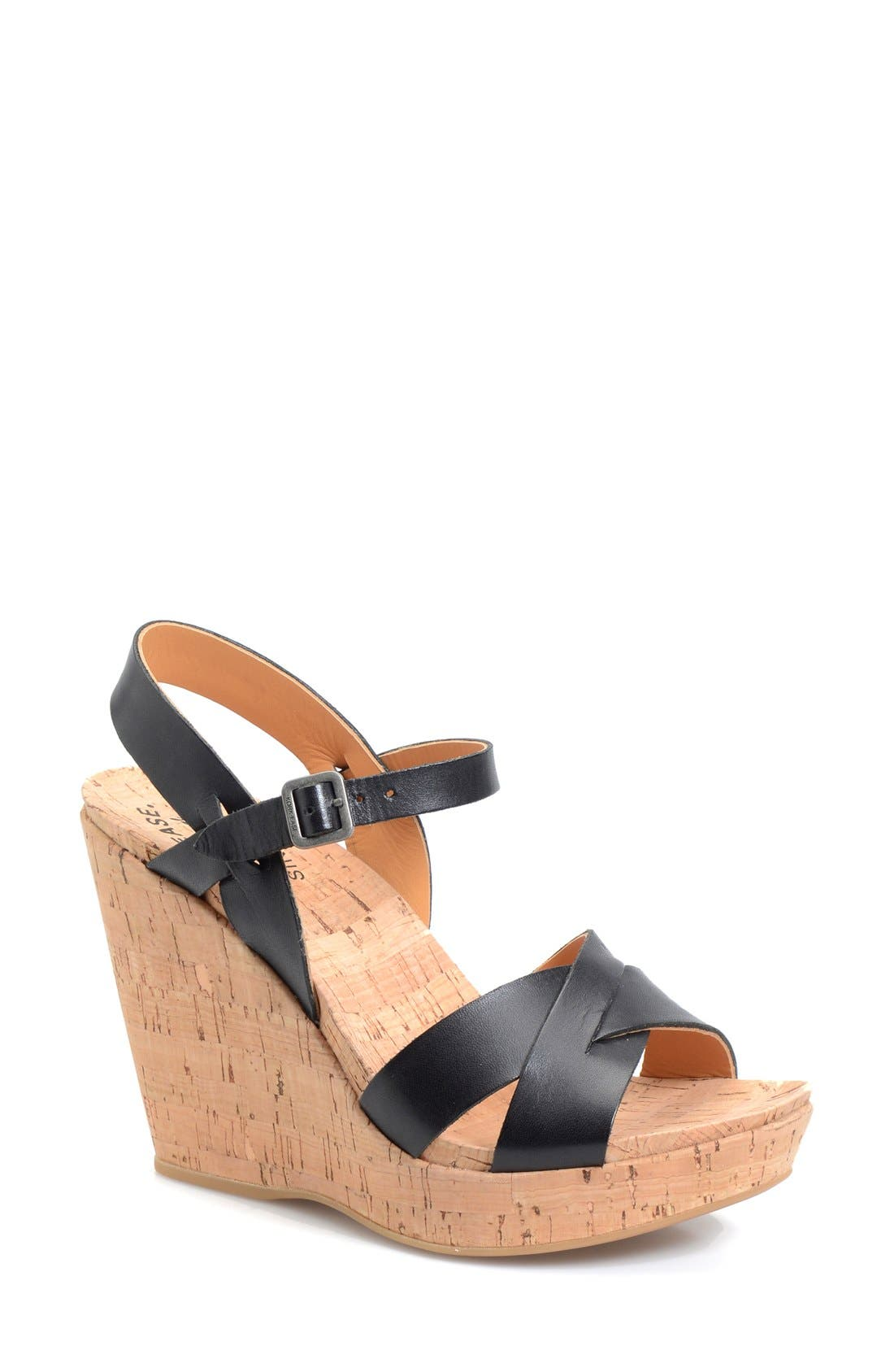 Alternate Image 1 Selected - Kork-Ease® 'Bette' Cork Wedge (Women)