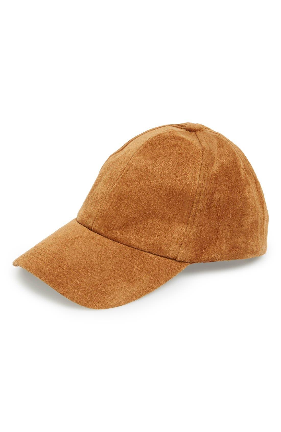 Alternate Image 1 Selected - Steve Madden Snapback Baseball Cap