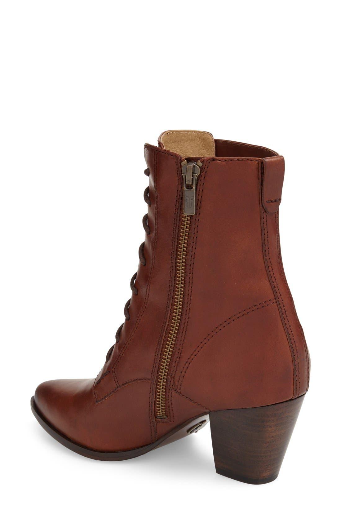 Alternate Image 2  - Frye 'Renee' Lace Up Boot (Women)