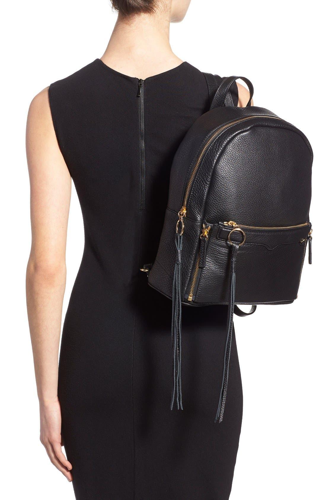 Alternate Image 2  - Rebecca Minkoff 'Lola' Backpack with Detachable Crossbody