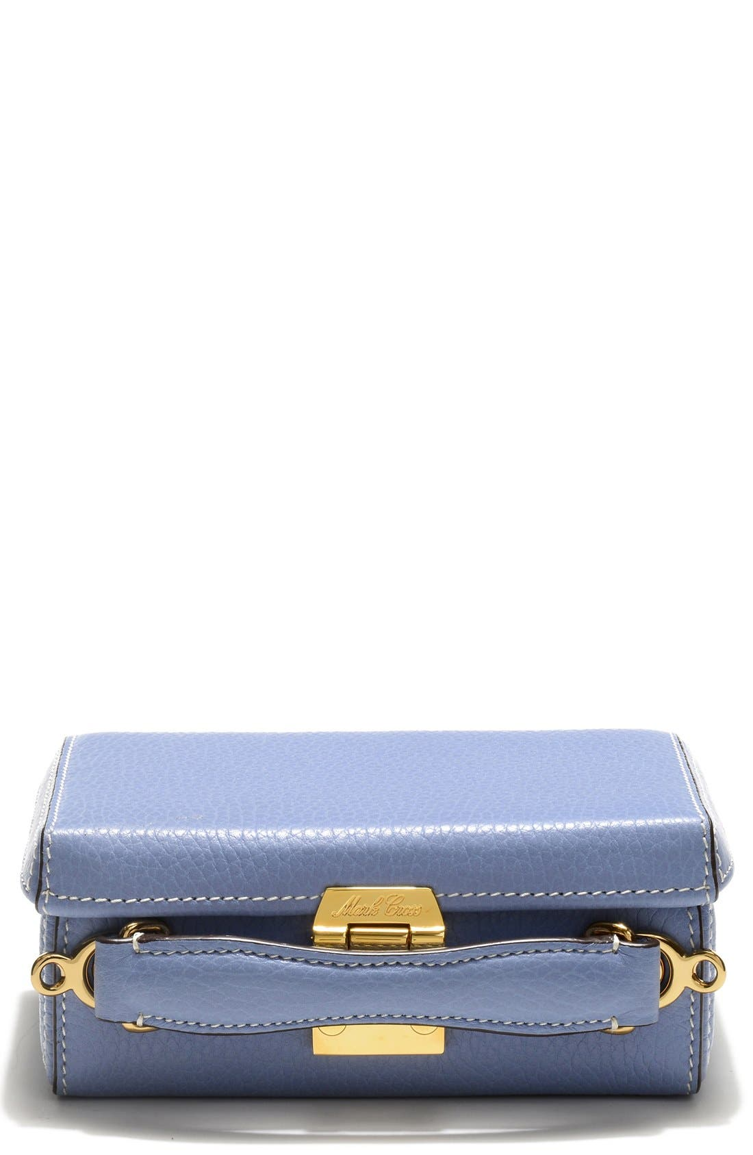 Alternate Image 1 Selected - Mark Cross 'Mini Grace' Pebbled Leather Box Bag