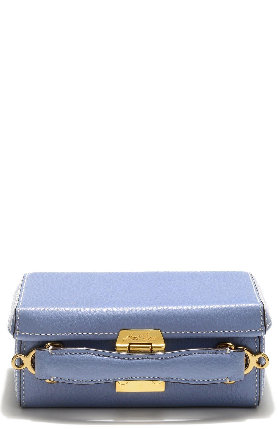 Main Image - Mark Cross 'Mini Grace' Pebbled Leather Box Bag