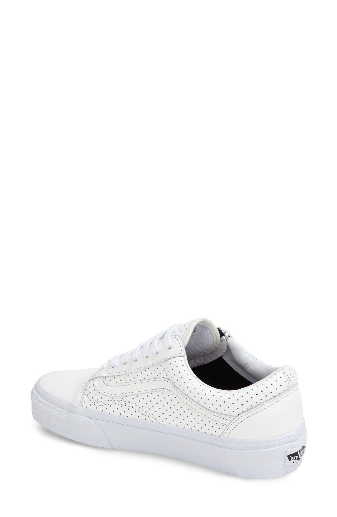 Alternate Image 2  - Vans 'Old Skool' Zip Sneaker (Women)