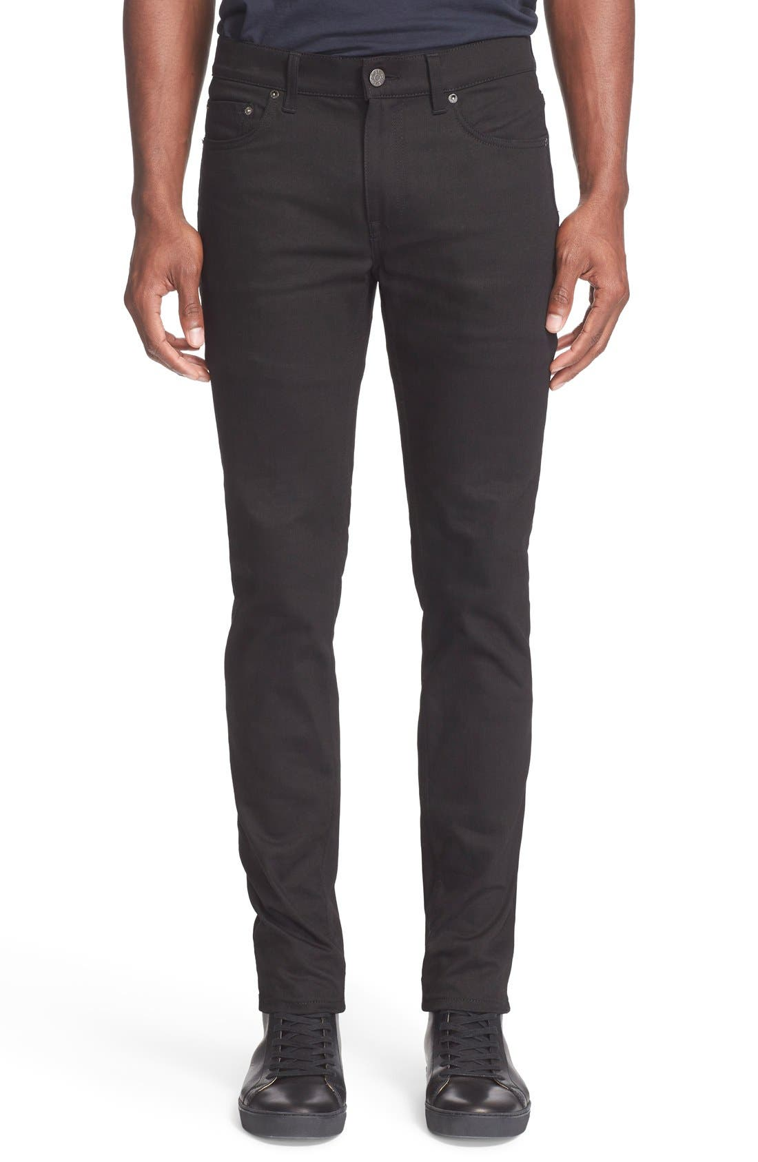 ACNE Studios 'Ace' Slim Straight Leg Jeans (Stay Cash Black)