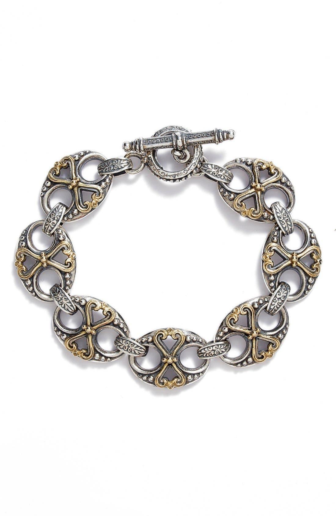 KONSTANTINO 'Hebe' Link Toggle Bracelet