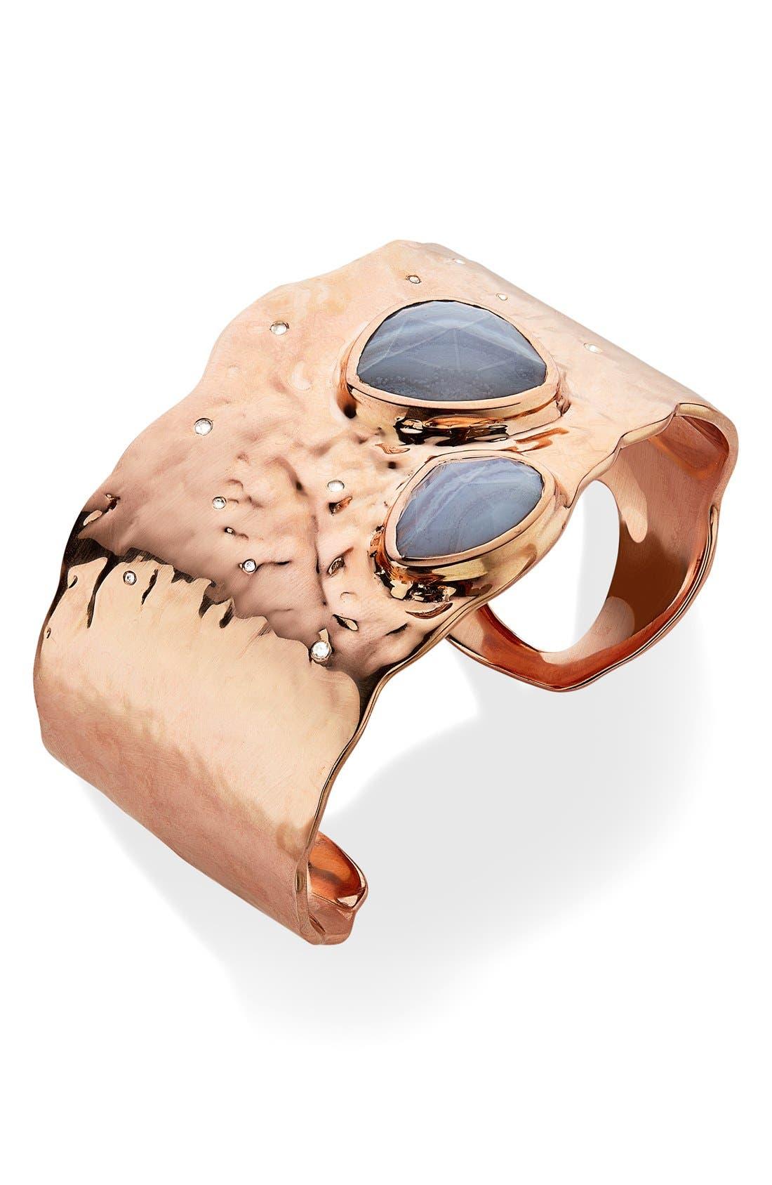 Alternate Image 1 Selected - Monica Vinader 'Siren Odyssey' Semiprecious Stone Cuff