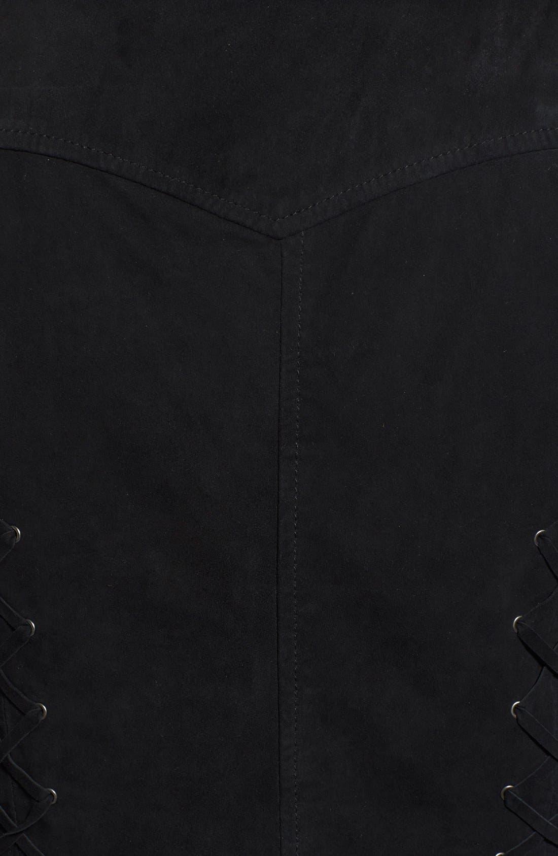 Alternate Image 5  - PAIGE 'Janelle' Suede Vest