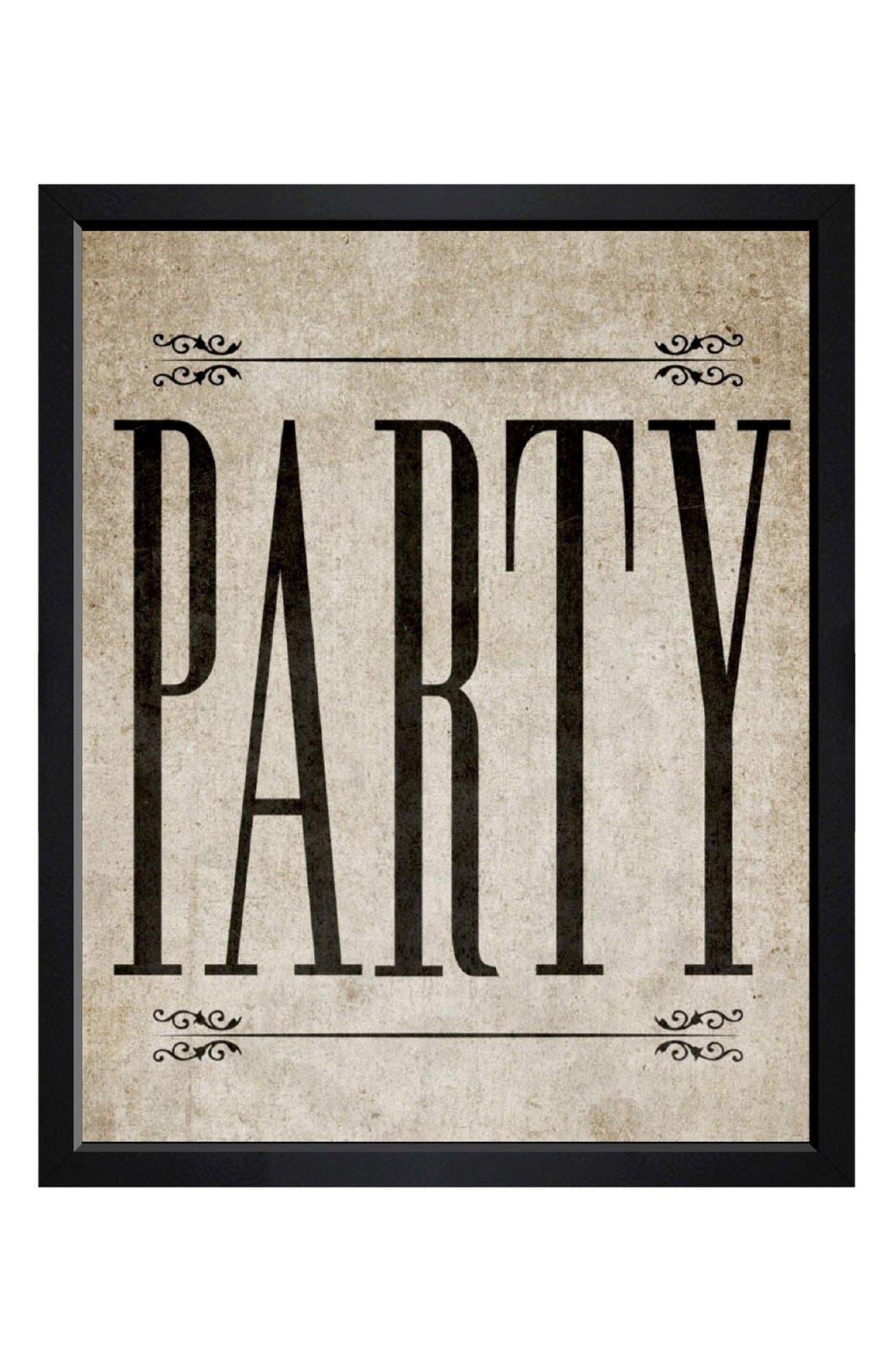 Alternate Image 1 Selected - Hatcher & Ethan 'Party Vintage' Framed Print