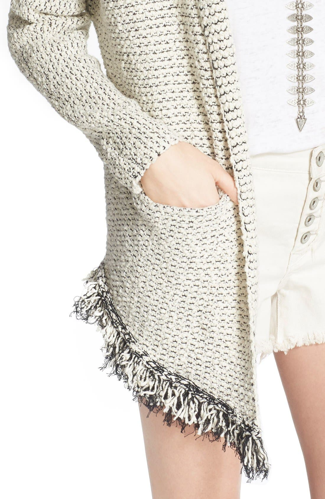 Alternate Image 4  - Free People 'Love Me Tender' Fringe Cardigan