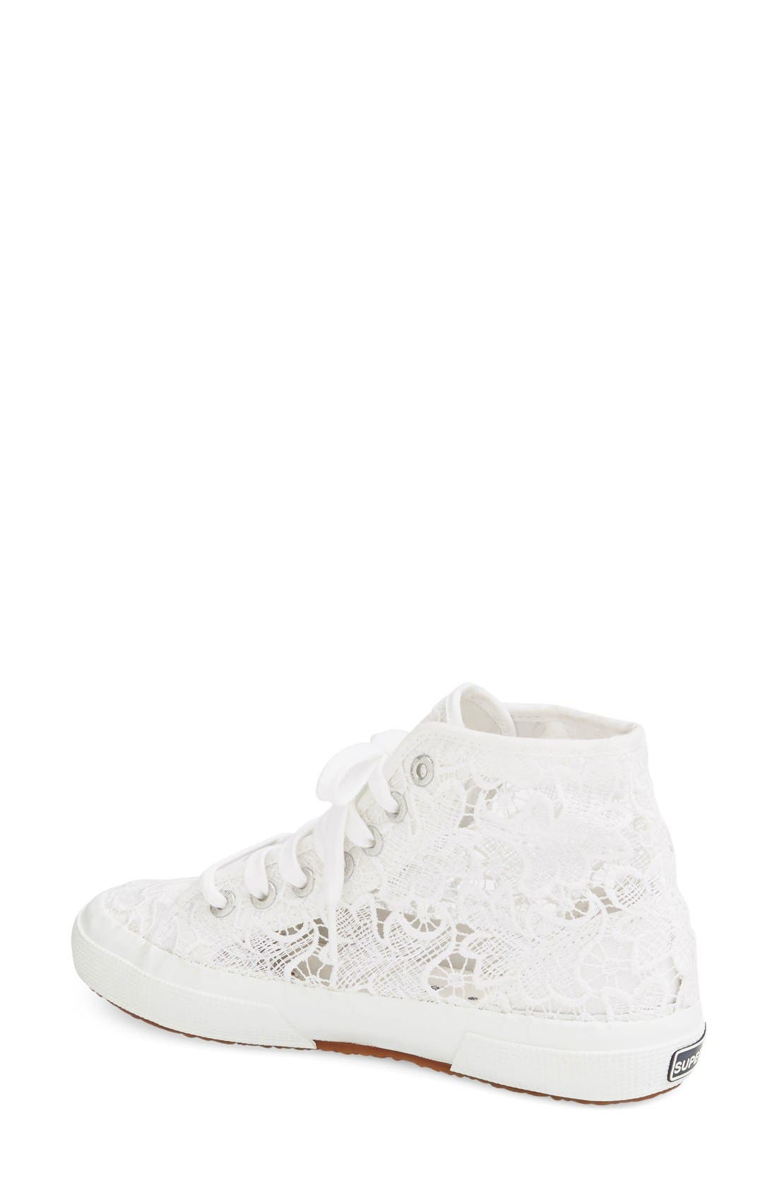 Alternate Image 2  - Superga 'Macramew' High Top Sneaker (Women)
