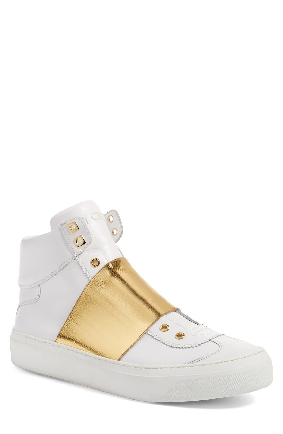 JIMMY CHOO 'Archie' High Top Sneaker