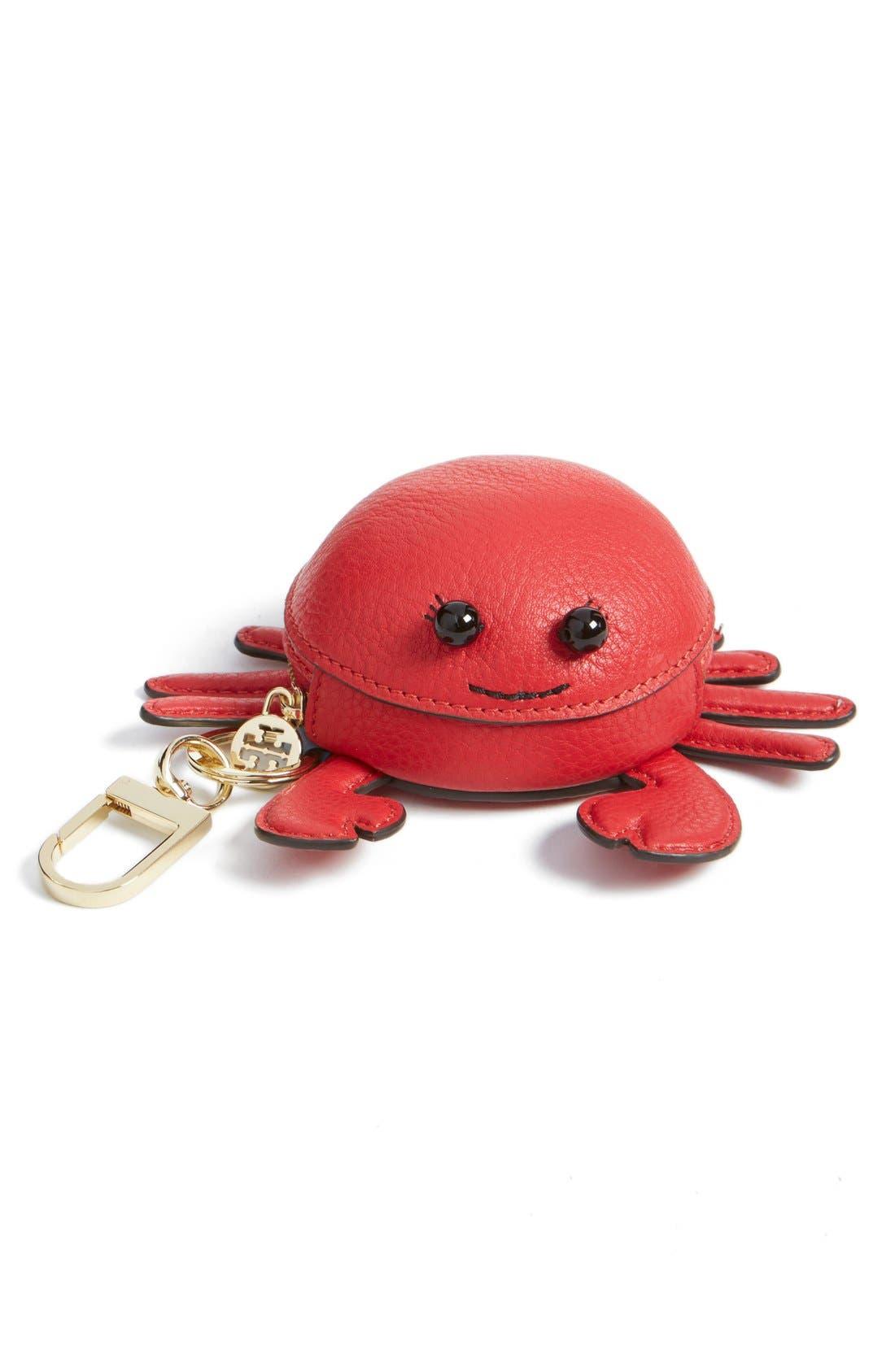 Main Image - Tory Burch 'Carl Crab' Coin Pouch Bag Charm
