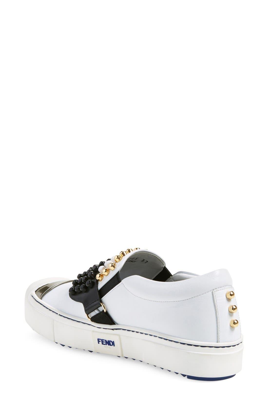Alternate Image 2  - Fendi 'Karlito' Slip-On Sneaker (Women)