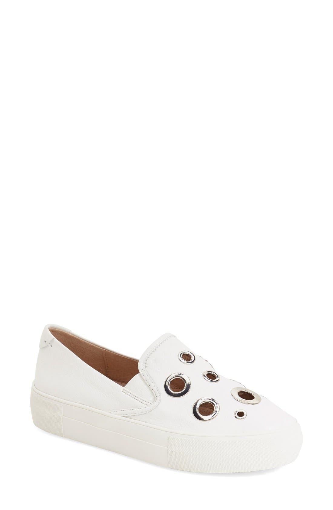 Alternate Image 1 Selected - JSlides 'A-List' Slip-On Platform Sneaker (Women)