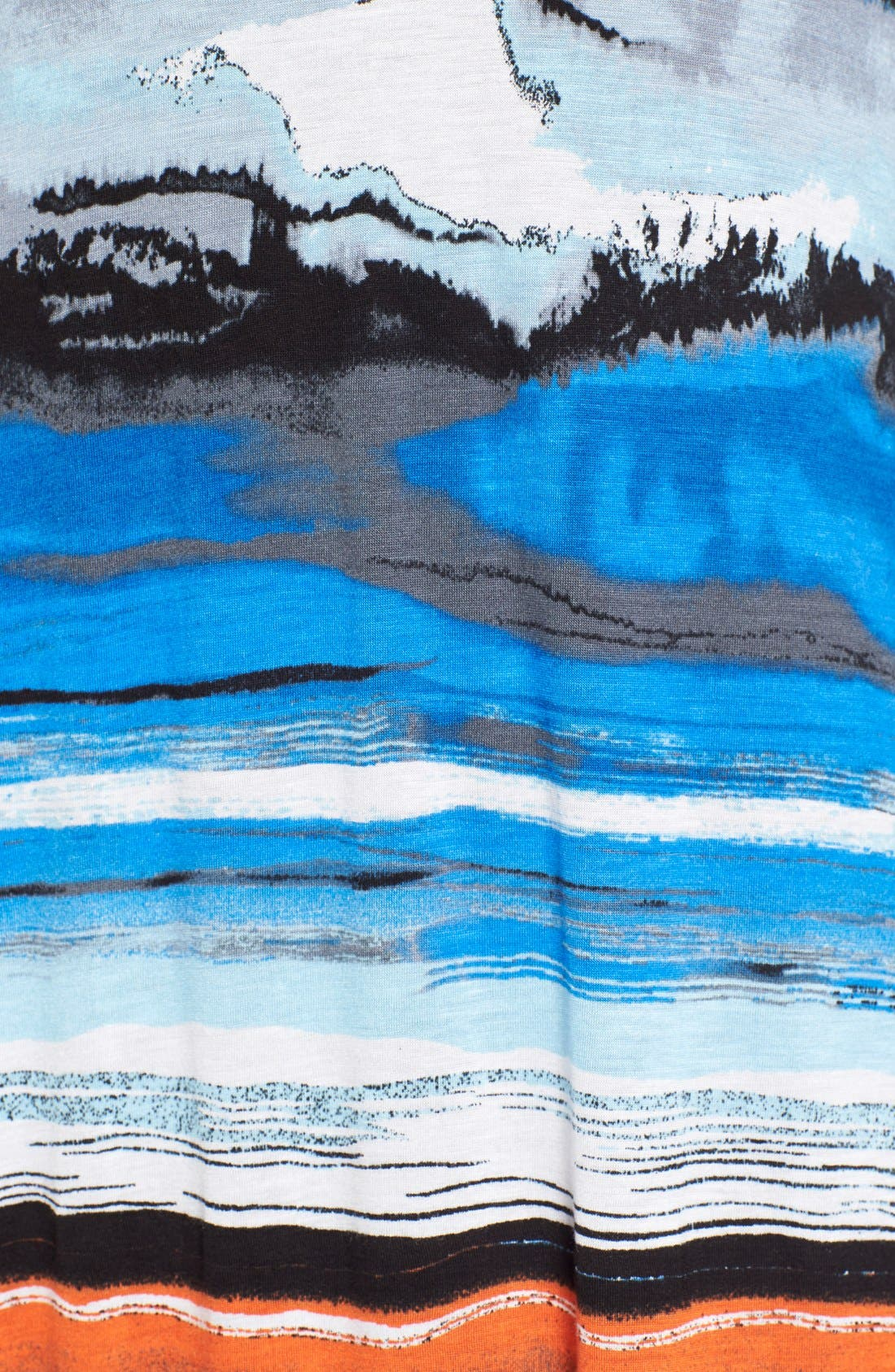 Alternate Image 5  - kensie Print Maxi Dress