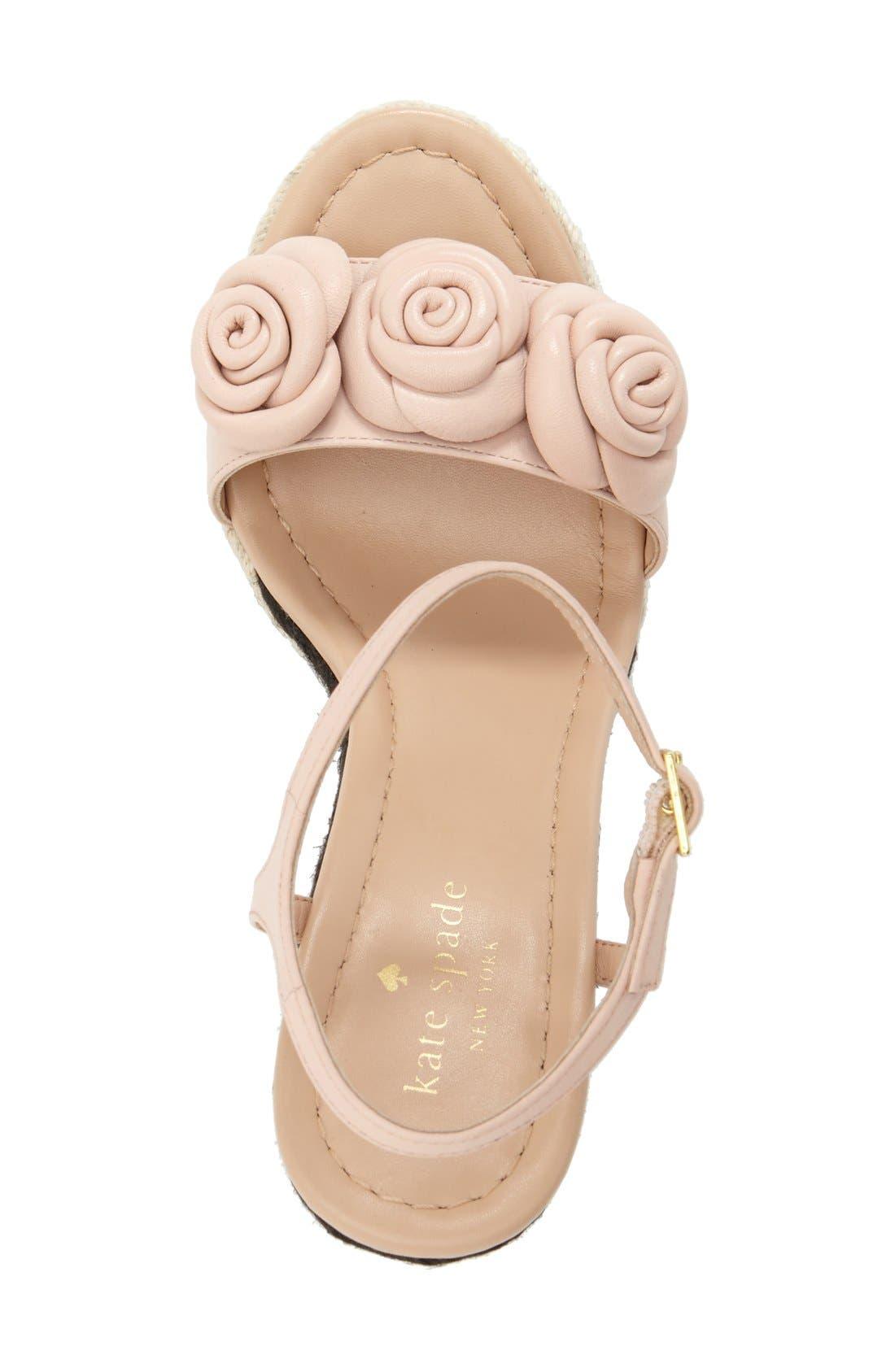 Alternate Image 3  - kate spade new york 'jill' espadrille wedge sandal (Women)