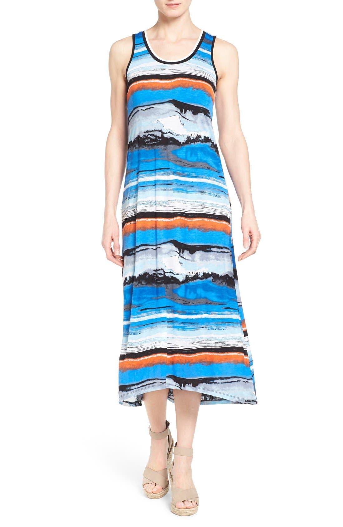Alternate Image 1 Selected - kensie Print Maxi Dress