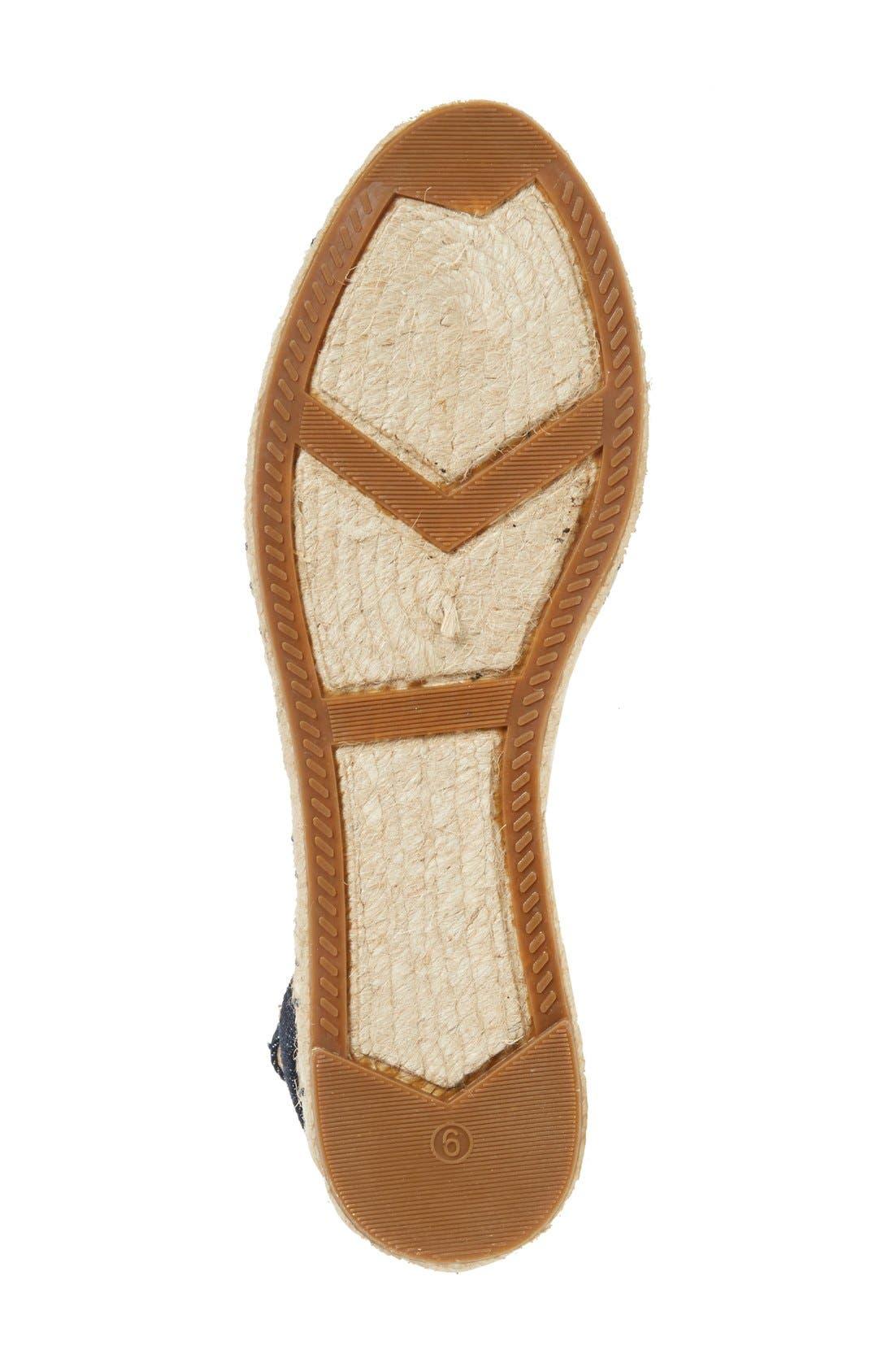 Alternate Image 4  - Ivanka Trump 'Rion' Ankle Strap Espadrille Flat (Women)