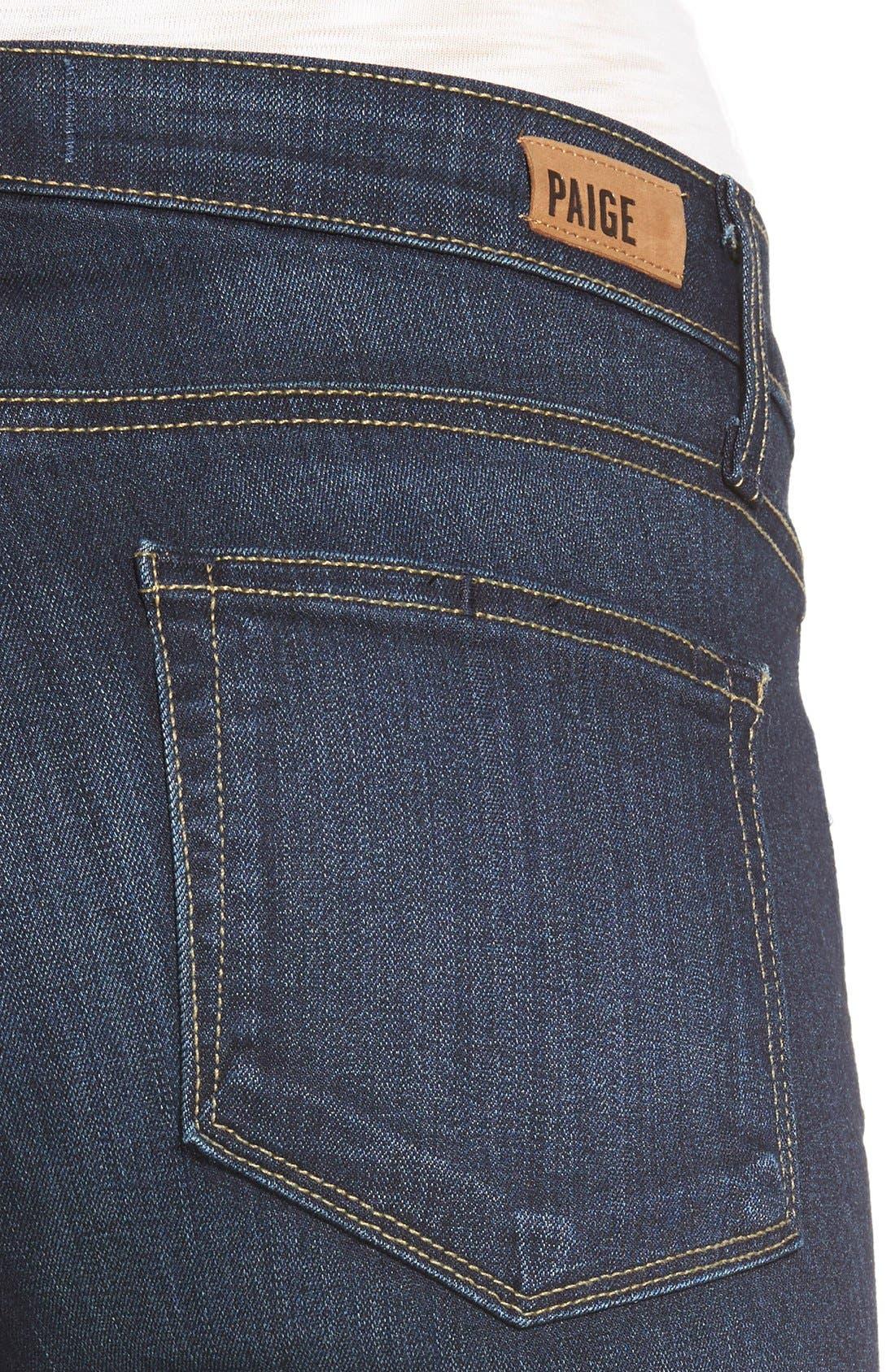 Alternate Image 4  - Paige Denim 'Transcend - Skyline' Skinny Jeans (Hartmann)