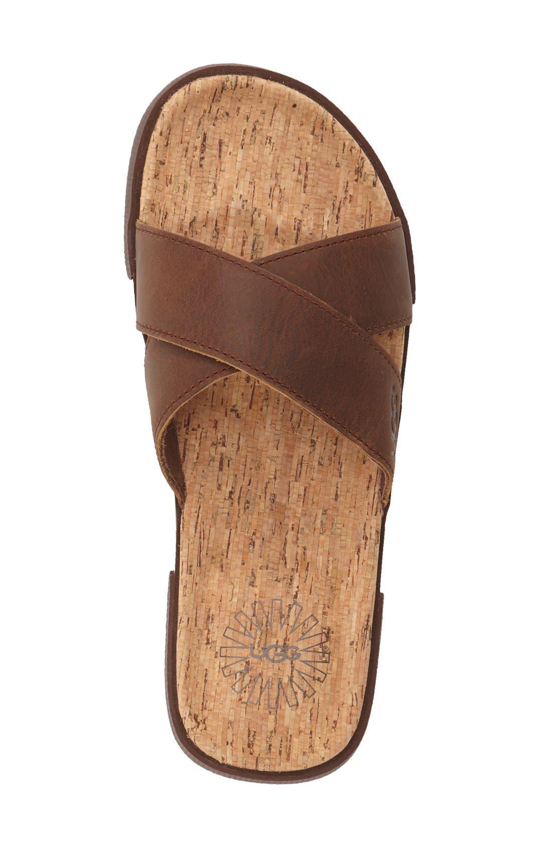 Alternate Image 3  - UGG® 'Ithan' Slide Sandal (Men's)