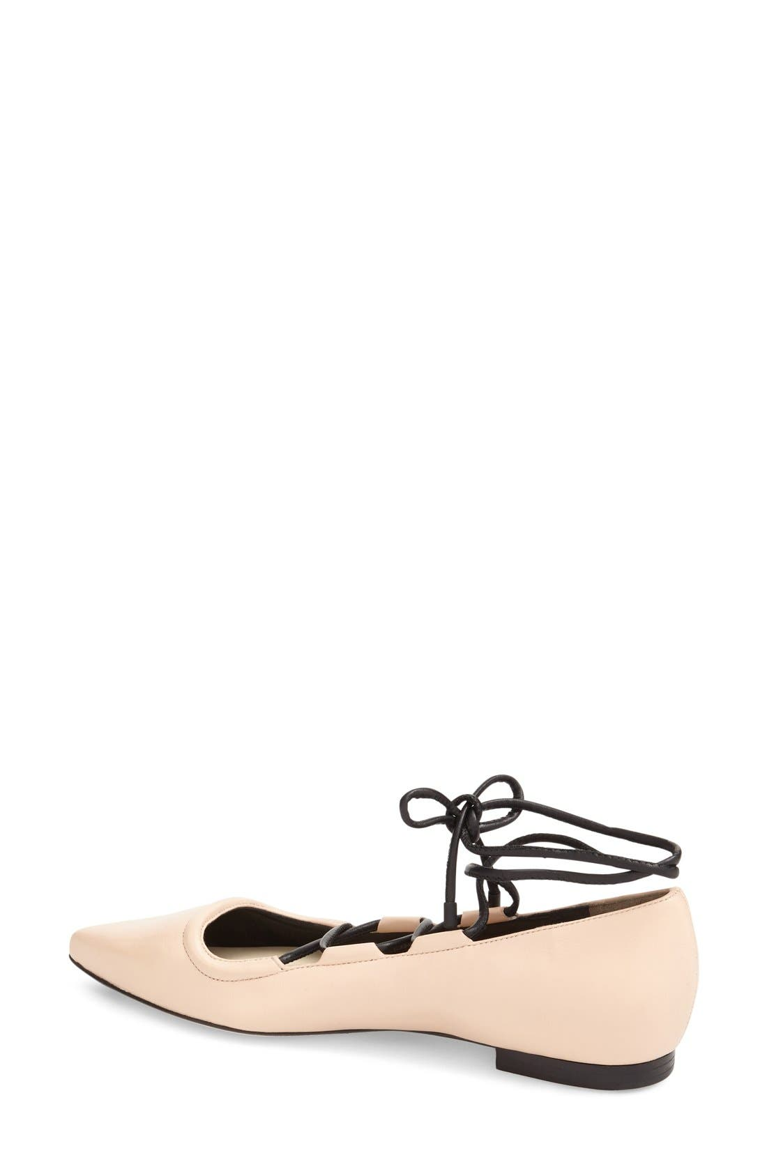 Alternate Image 2  - 3.1 Phillip Lim 'Martini' Lace-Up Flat (Women)