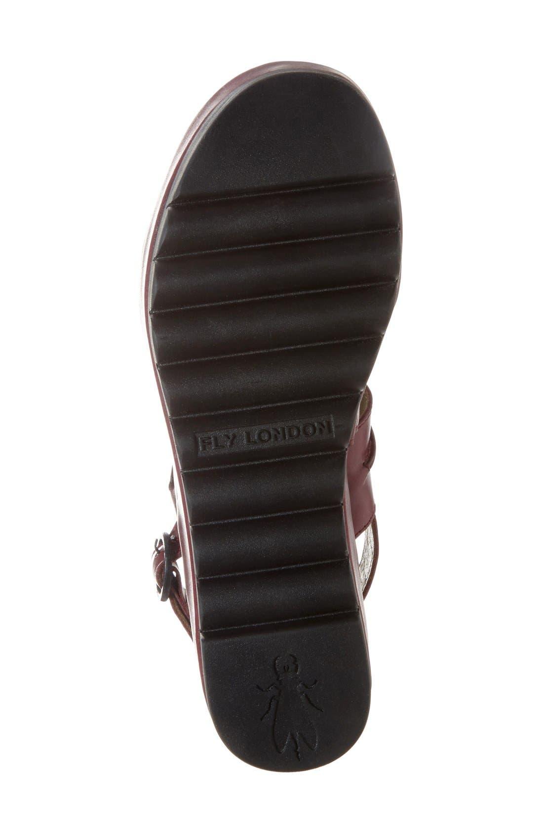 Alternate Image 4  - Fly London 'Baku' Platform Sandal (Women)