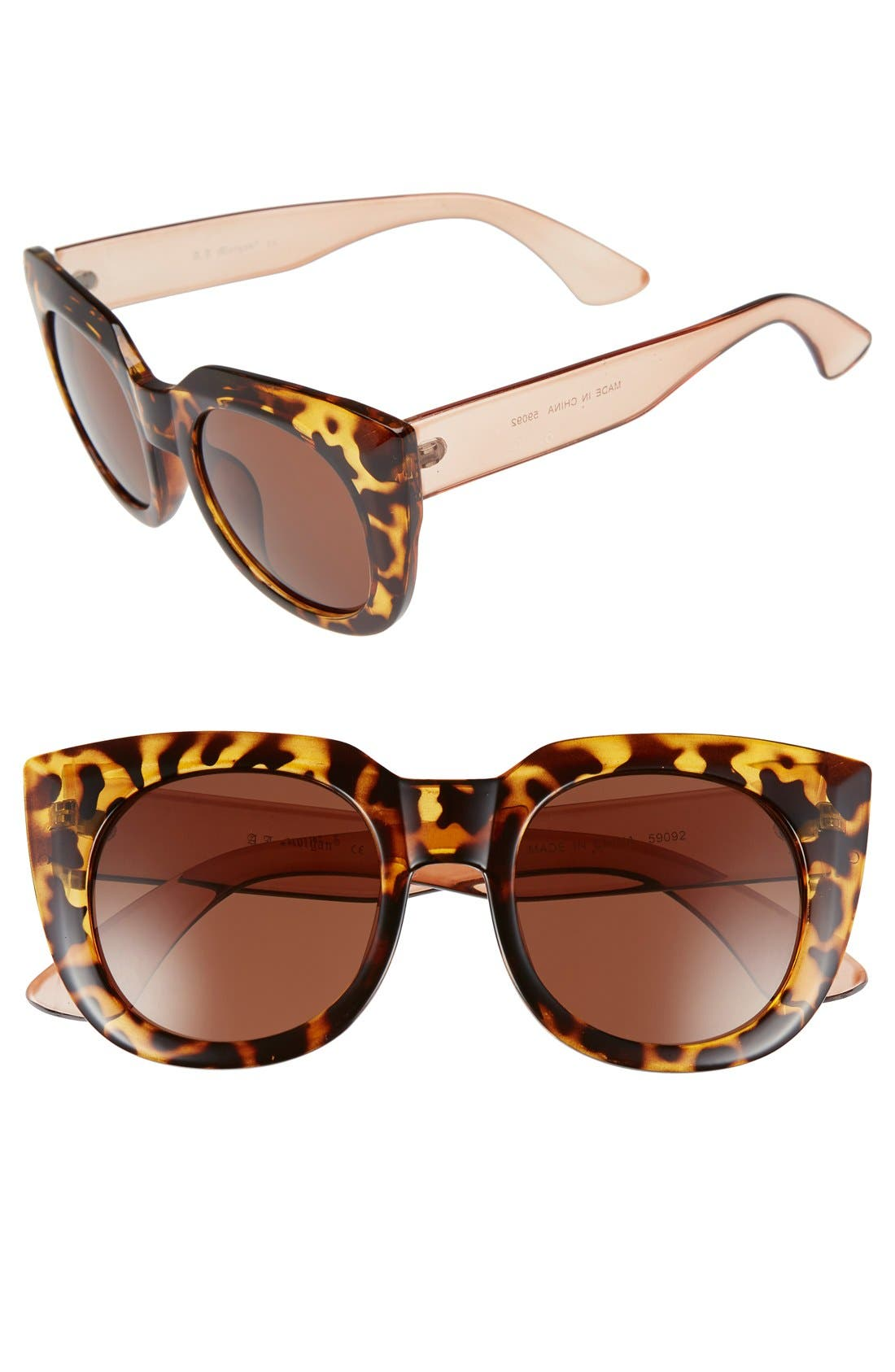Main Image - A.J. Morgan 'Beam' 50mm Sunglasses